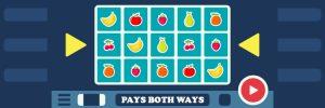 Slots that pay both ways